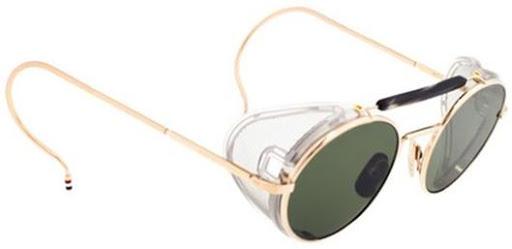 db0f97f07866f3 Lunettes rétro avec oeillères ou protecteurs latéraux   Blickers