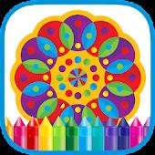 Mandala Coloring & Paint