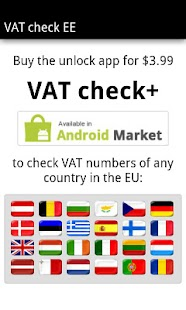 VAT check EE - screenshot thumbnail