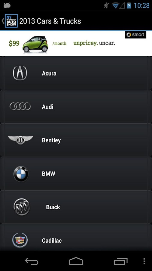 New York Intl. Auto Show - screenshot