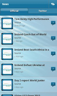 Badminton Ireland App - screenshot thumbnail