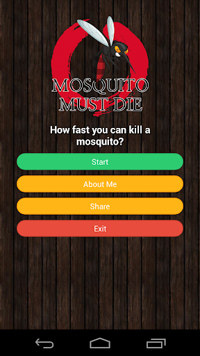 Mosquito Must Die