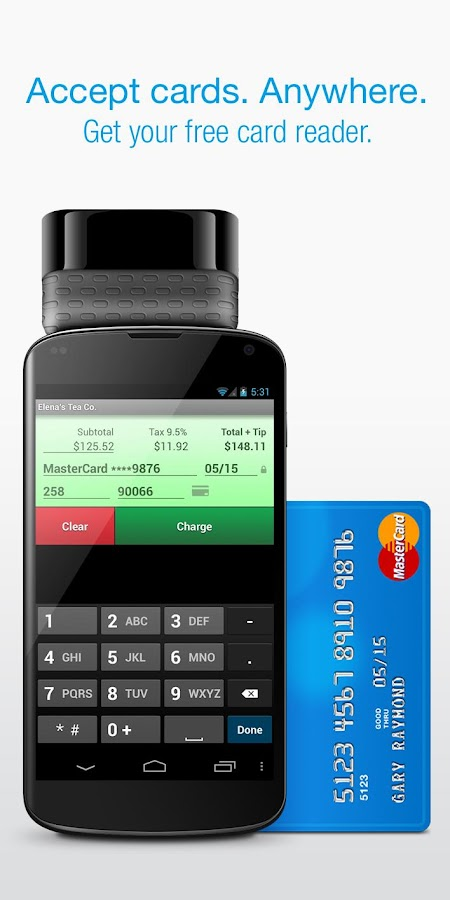 Credit Card Terminal- screenshot