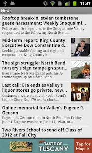 Snoqualmie Valley Record - screenshot thumbnail
