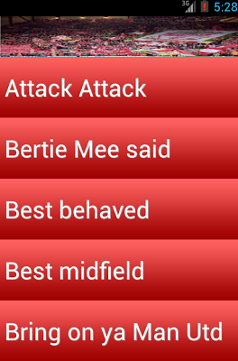 Liverpool Fan chants The KOP - screenshot