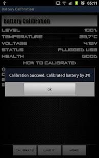 Battery Calibration- screenshot thumbnail