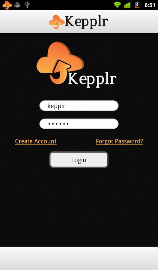 Kepplr - screenshot