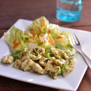 Tortellini with Garden Fresh Pesto Recipe