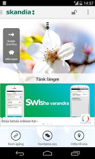 Skandia och Skandiabanken - screenshot thumbnail