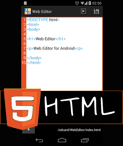 Web Editor HTML Viewer