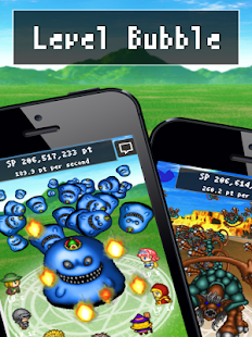 Level Bubble - RPG free game- screenshot thumbnail