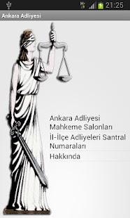 Ankara Adliyesi Rehberi - screenshot thumbnail