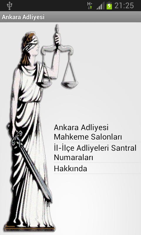 Ankara Adliyesi Rehberi - screenshot