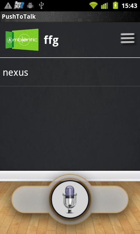 Push2Talk Free- screenshot