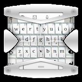 White Art TouchPal Theme