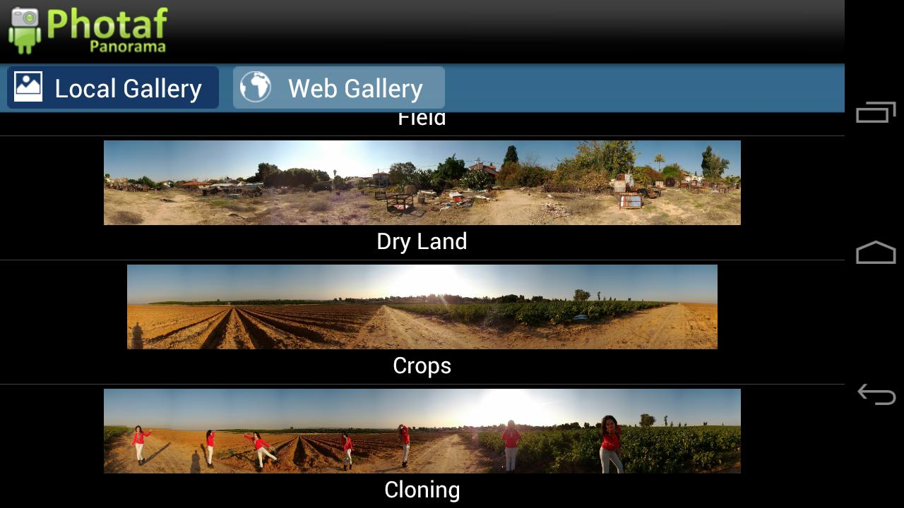 Photaf Panorama (Free)- screenshot