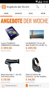 notebooksbilliger.de App - screenshot thumbnail