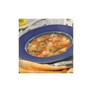 Country Chicken Vegetable Soup.