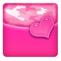 THEME - Pink Heart Camo icon