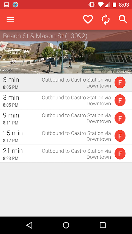 Metro San Francisco -Muni Bart- screenshot