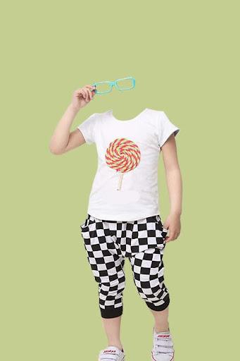 Kids Fashion Photo Suit