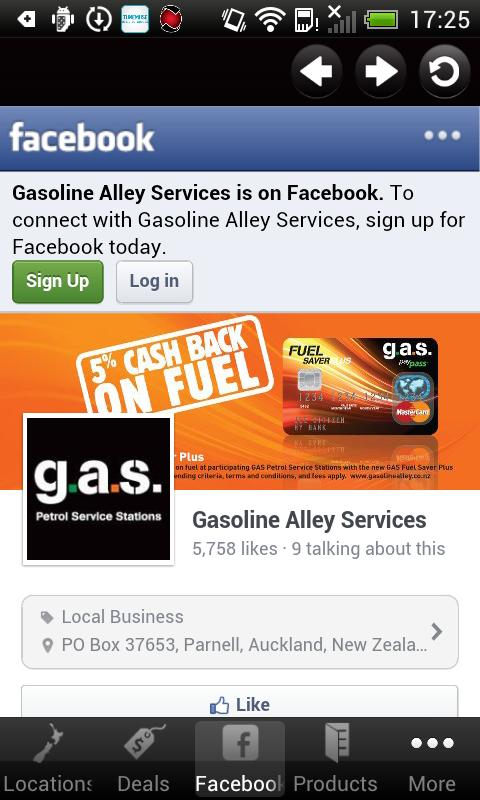 Gasoline Alley Services - screenshot