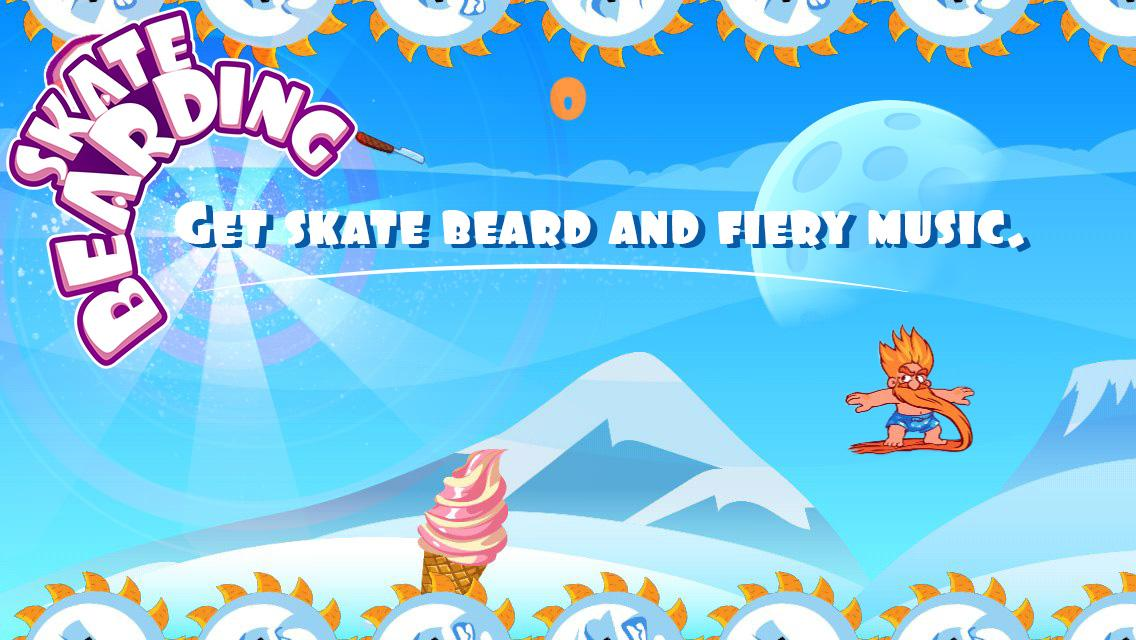 Skate Bearding- screenshot