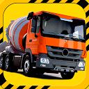 Construction Parking 3D Truck mobile app icon