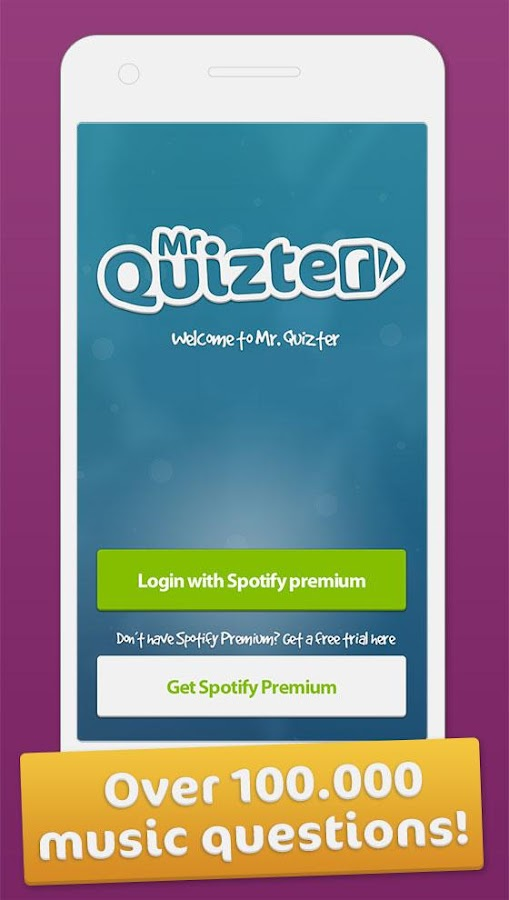 Mr. Quizter- screenshot