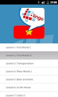 Screenshot of L-Lingo Learn Vietnamese Pro