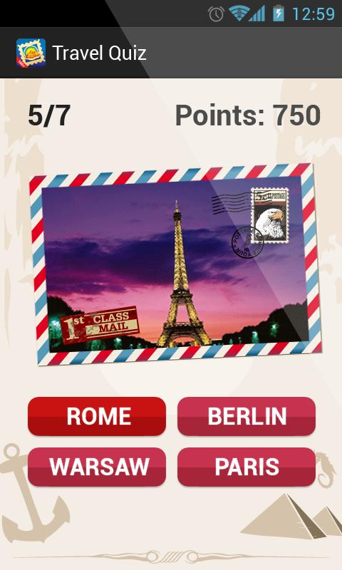 Travel Quiz Guess - screenshot