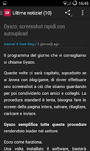 Notizie Tecnologia e Internet- screenshot thumbnail