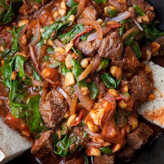 Ethiopian-Style Beef Stir Fry.