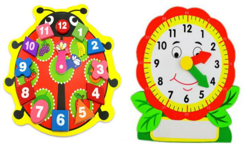 Kids Learn Clock