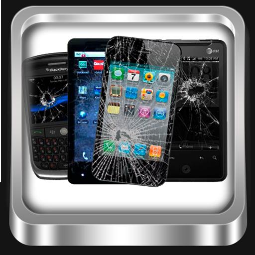 破碎屏幕-欺骗你的朋友 個人化 App LOGO-硬是要APP