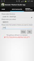 Screenshot of Monster Warlord Guide App