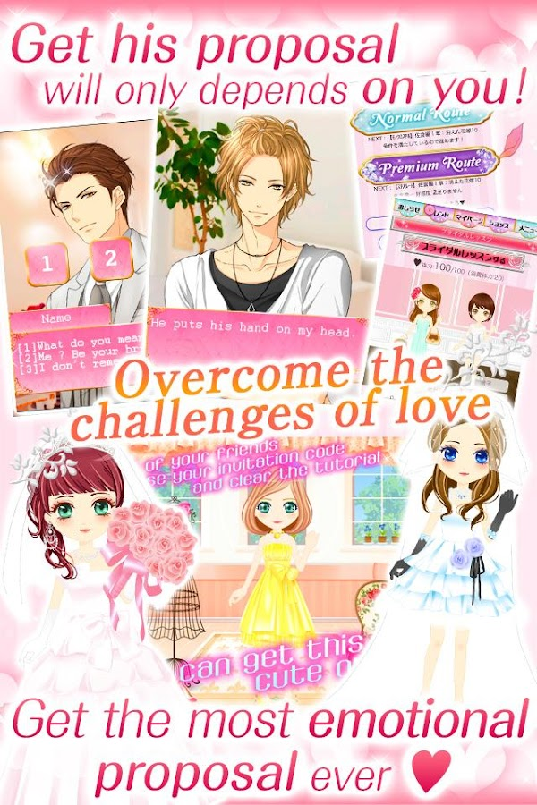 My sweet proposal dating sims