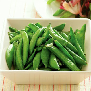Sugar Snap Peas with Oregano