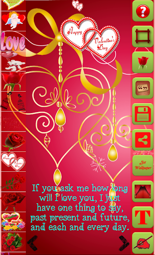 Valentine Greetings Maker