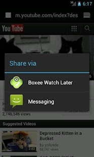 Boxee Watch Later - screenshot thumbnail