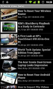 PCWorld Video- screenshot thumbnail
