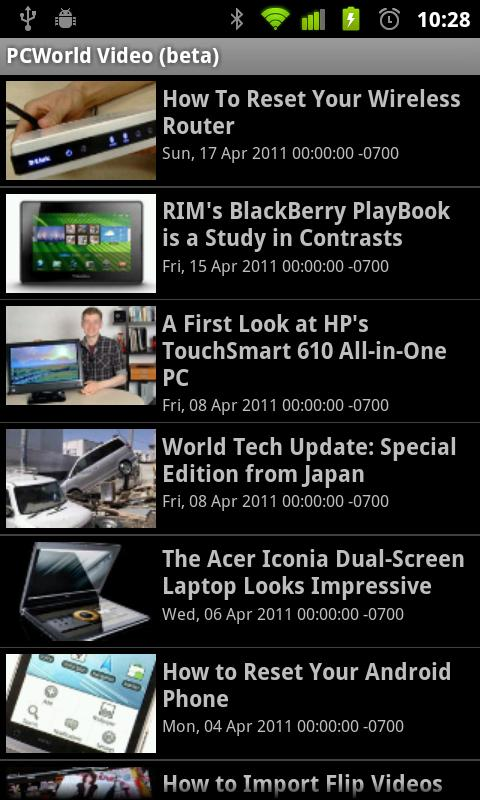 PCWorld Video - screenshot