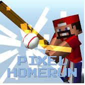 Pixel Homerun  Baseball legend