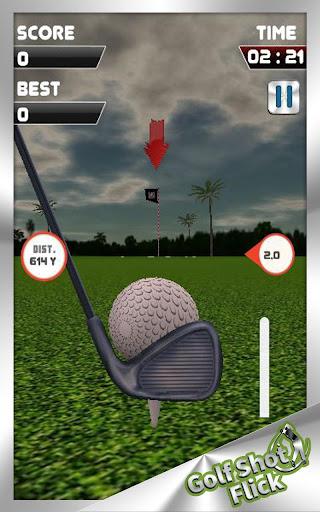 高尔夫击球一抖