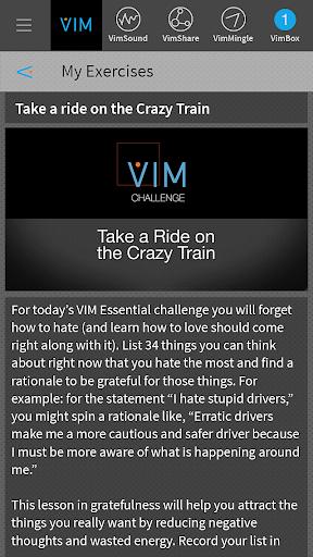 VIM Now