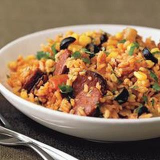Red Rice with Chorizo.