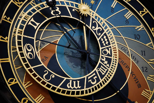 Astronomical-Clock-Prague - Astronomical clock in Prague, the Czech Republic.