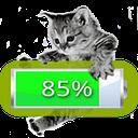 Kitten Battery Widget