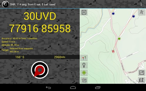 GPS   Grid Reference - Full- screenshot thumbnail