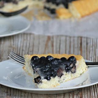 Obstkuchen mit Blaubeeren or Fruit Cake with Blueberries.